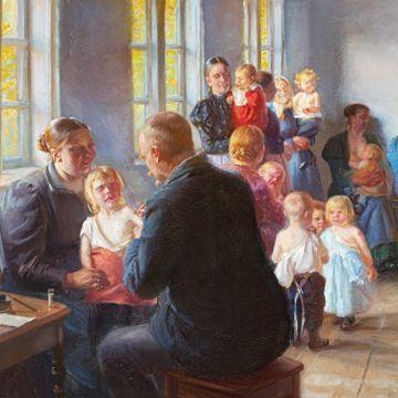 121 år gammelt maleri ble aktuelt igjen. Nå kommer verkene til Norge.