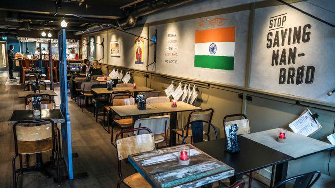 Restaurant ga bort omsetningen -  samlet inn 195.000 kroner til India