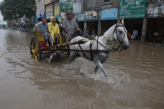 Millionby under vann etter ett døgn med nedbør