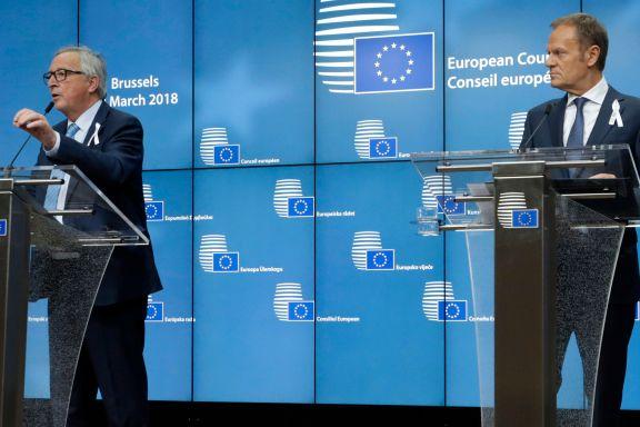 Britene får støtte av EU: «Meget sannsynlig» at Russland sto bak giftangrepet