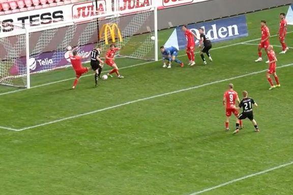 Eirik Horneland debuterte for Brann som midstopper