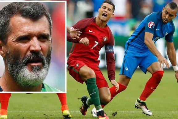 Hardhausen Roy Keane roser taklingen som skadet Ronaldo: - Den var fantastisk