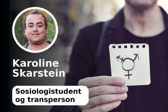 Helsevesenet er problemet for transpersoner