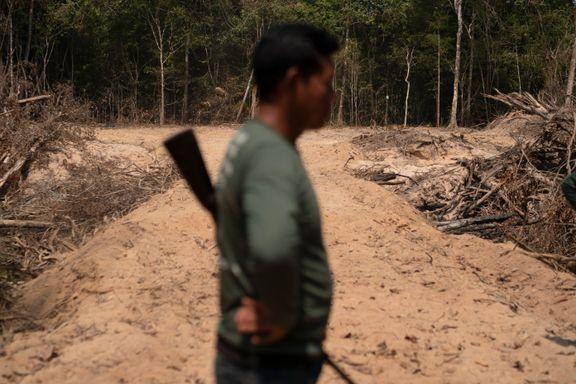 HRW: Kriminelle nettverk truer regnskogforkjempere i Brasil