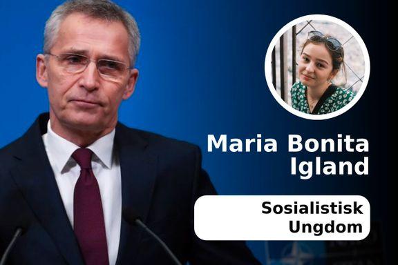 At Høyre vil nominere Nato til fredsprisen, vitner om manglende virkelighetsorientering