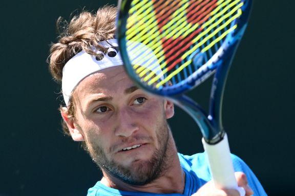 Ruud vant slitekamp – nærmer seg ATP-sluttspillet