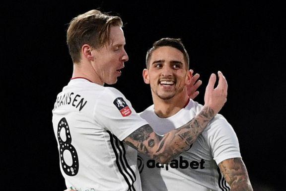 To drømmetreff sendte Johansens Fulham videre