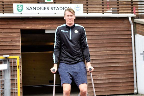 Etter at denne mannen ble skadet, har Sandnes Ulf gått fra topp til bunn