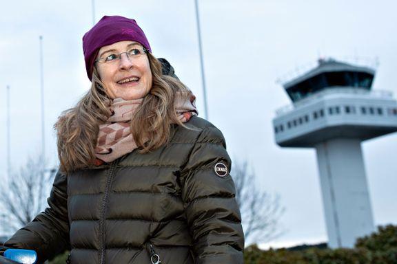 I julehelgen vil Anne Hege Gyllan aller helst være på en oljeplattform, langt borte frå familie og kjente