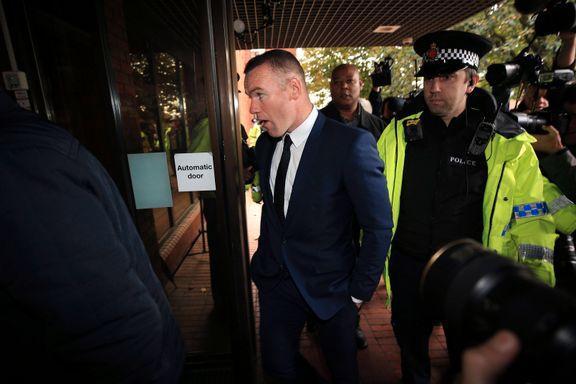 Rooney tilsto promillekjøring. Nå er dommen klar.