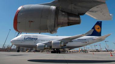 Lufthansa i samtaler om redningspakke på 100 milliarder