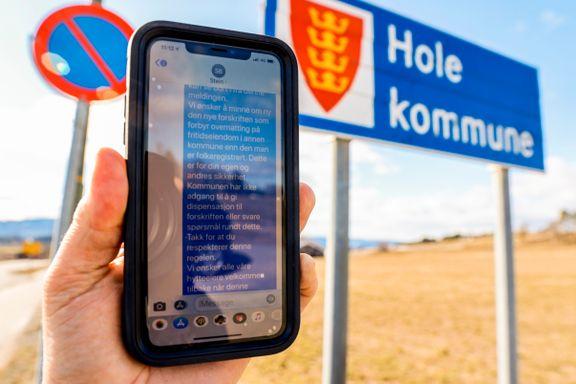 Flere kommuner sender befolkningsvarsel på SMS for å stoppe hytteeiere som er på vei til hytta