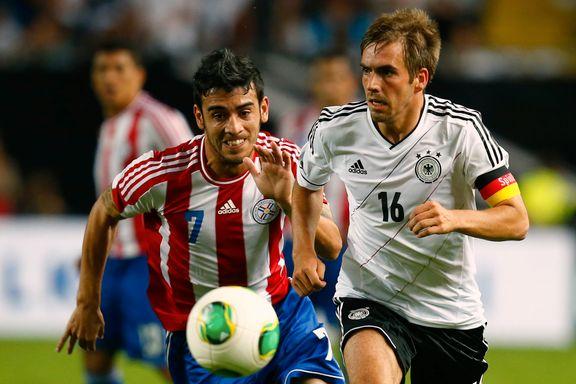 Tysklands kaptein tar et oppgjør med supporterne