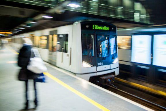 Oslo-byrådet vil samle trikk og T-bane i ett selskap