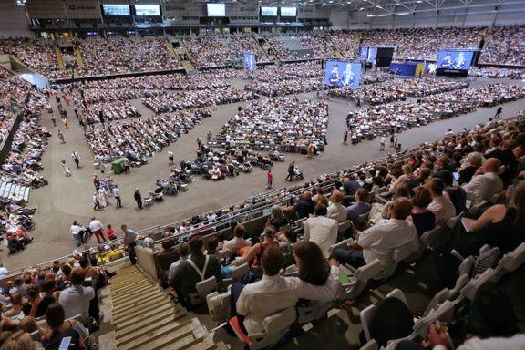 Tidenes største Jehovas vitner-stevne på Telenor Arena