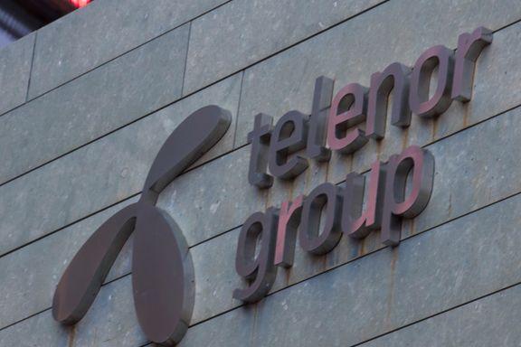 Telenor klager på gigantgebyr