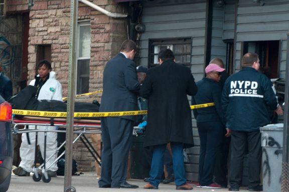 Fire drept i skuddveksling på illegal spilleklubb i NYC