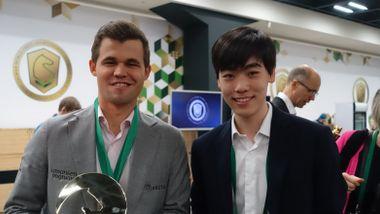 I løpet av fire måneder har den ukjente amerikaneren vunnet 189 sjakkpartier mot Magnus Carlsen.