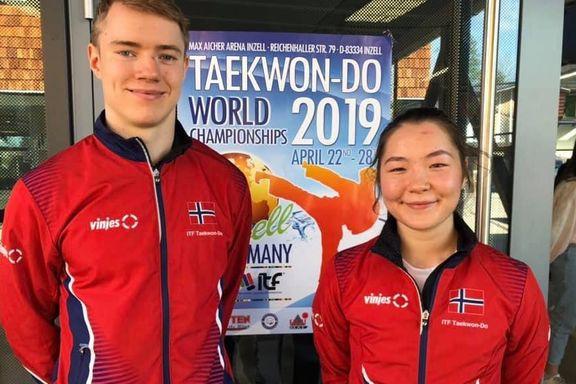 Hjem til Tromsø med VM-sølv og bronse