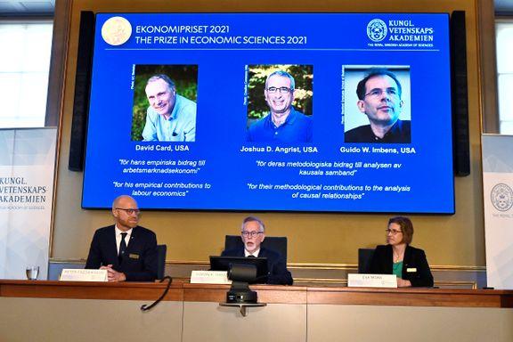 Årets nobelprisvinnere i økonomi etablerte en ny standard