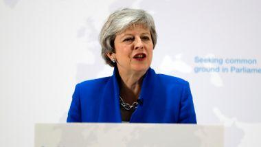 Theresa May gir Parlamentet en «siste sjanse» til å vedta brexit-plan. Må stemme over ny folkeavstemning.