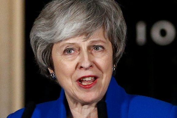 May ber EU om brexit-utsettelse til juni