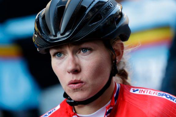 Norsk EM-syklist deiset i bakken: – Jeg slo hodet ganske kraftig i asfalten