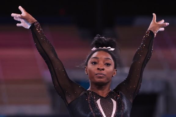 VM-vinner gråt da Simone Biles gjorde det unike trikset