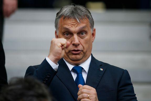 Ungarns sterke mann ber britene om å bli i EU