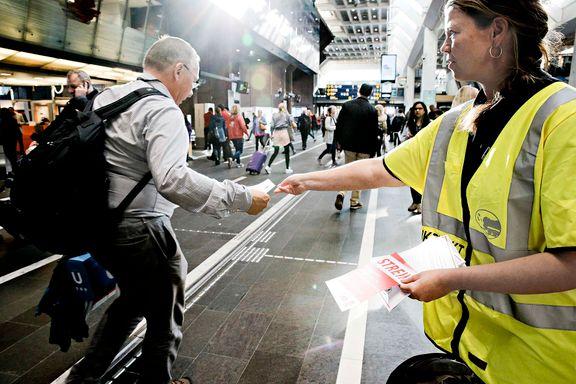 Dette visste du ikke om togstreiken: Flytoget sa ja til lokførerkrav NSB nå kjemper innbitt imot