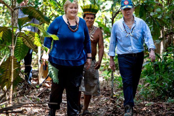 Norge lover Colombia opptil 400 millioner kroner i årlig regnskog-støtte