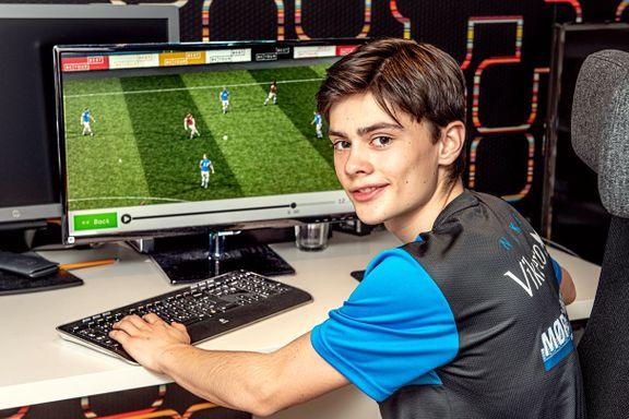 Da koronakrisen kom, skjøt etterspørselen fart. For Andreas (14) ble fotballspillet redningen.