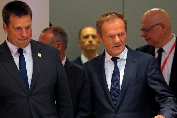 EU-lederne gir opp. Ingen enighet. Forhandlingene fortsetter tirsdag.