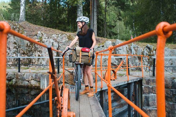 To ting er viktig når du skal på sykkeltur i Norge. Denne ruten tilbyr begge deler.