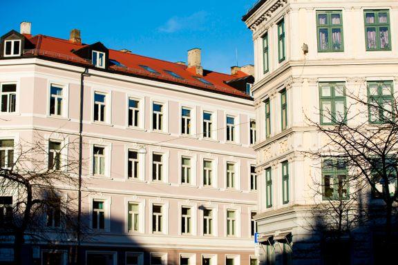 Små, sentrumsnære leiligheter ikke lenger mest populært