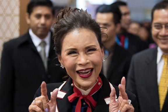 Thaiprinsessen var en politisk stjerne i 72 timer, men nå kan det bare hviskes om skandalen
