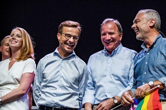 Hvem er hvem i svensk politikk? Hvilken partileder har norsk far? Og hvem av dem har norsk mor?
