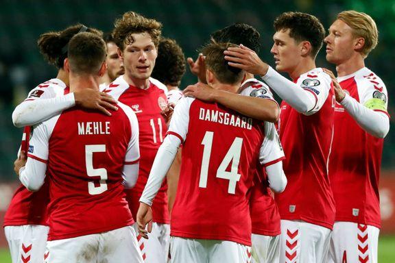 Danmark med scoringsrekord i VM-kvaliken