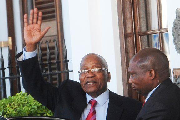 Sør-Afrika: Vil kaste presidenten - men Zuma nekter å gå av