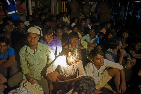 Anklager Myanmar for å holde rohingyaer i fangeleirer