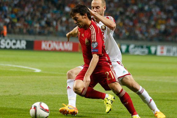 Silva-scoring holdt for Spania