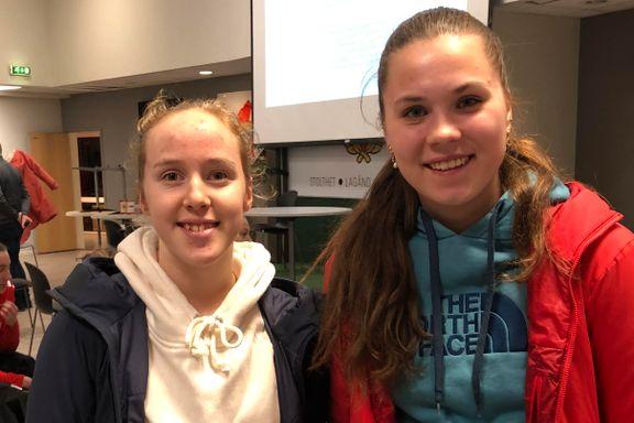 Andrea (16) og Frida (16) sa ja til ny klubb: – Det er på tide med en skikkelig damesatsing