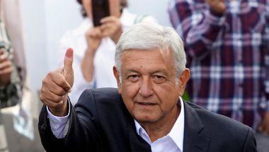 Første venstreorienterte president på mange tiår i Mexico