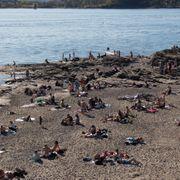 14 personer fikk påvist infeksjoner fra bakterier i sjøen i juni