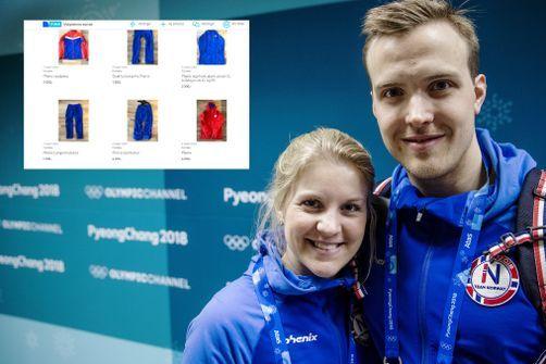 Curlingparet selger unna alt av OL-utstyr på Finn: – Vi er de fattigste utøverne