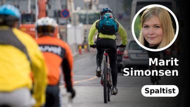 Hvorfor blir det færre sykkelulykker med flere syklister?