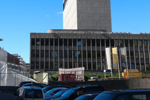 I oktober fortsetter rivingen av Regjeringskvartalet