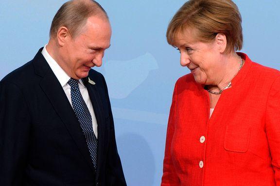Tung dag for Merkel, men Putin og Trump fant tonen   Frank Rossavik