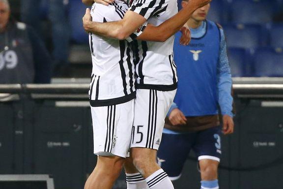 Juventus slo Lazio og tok sin femte strake seier