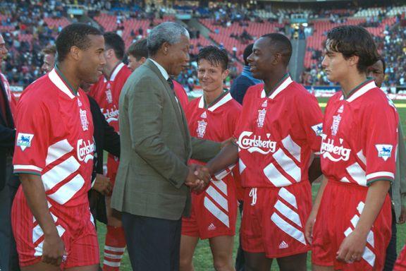 29. mai 1994 var en spesiell dag for Moldes talentsjef. Da debuterte han for Liverpool. Og møtte Nelson Mandela
